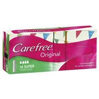 Carefree Tampons Super 16