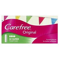 Carefree Tampons Super 32