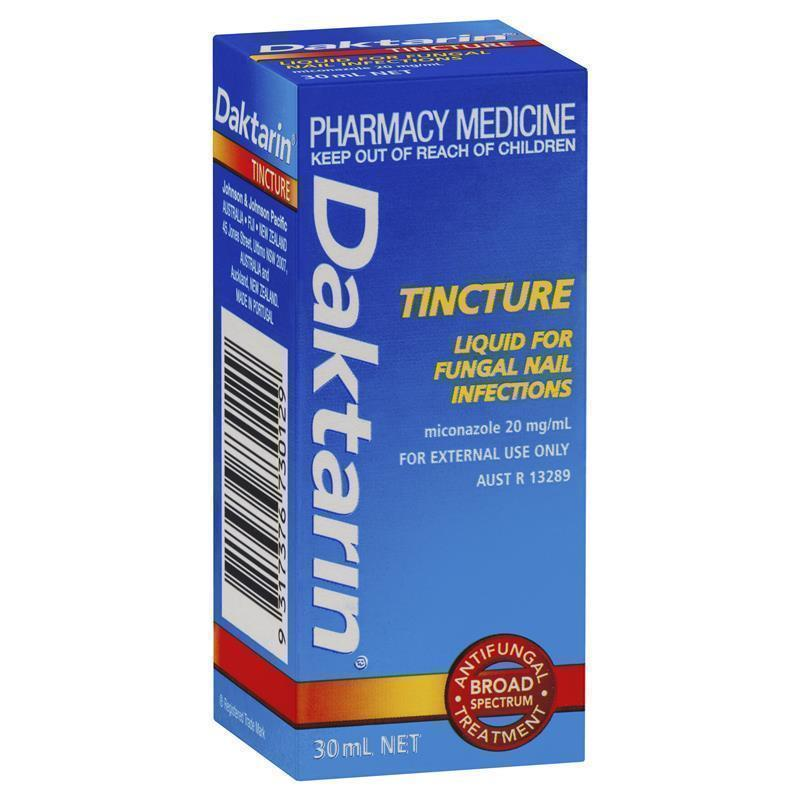 Daktarin Tincture for Fungal Nail Infections 30mL - ePharmacy