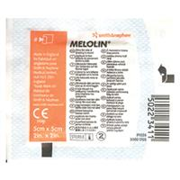 Melolin 5cm x 5cm Single Dressing