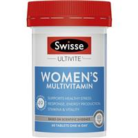 Swisse Women's Ultivite Tablets 60 Formula 1