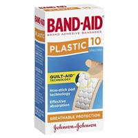 Band-Aid Plastic Strips 10
