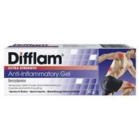 Difflam Extra Strength Gel 5% 30g