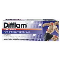 Difflam Extra Strength Gel 5% 30g