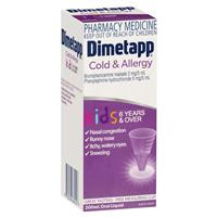 Dimetapp Cold and Allergy 200mL