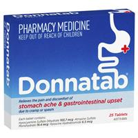 Donnatab Tablets 25
