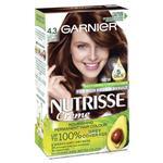 Garnier Nutrisse 4.3 Cappucino Dark Golden Brown