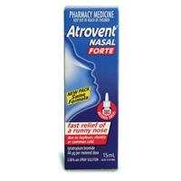 Atrovent Aqueous Nasal Spray Forte 44mcg 15mL