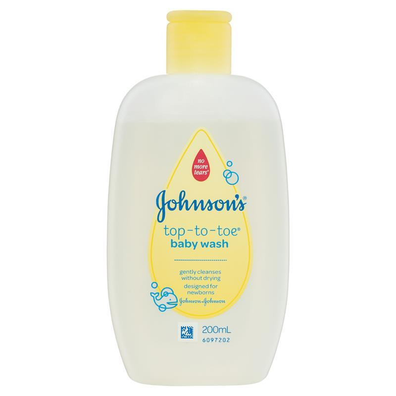 Johnson johnson baby wash