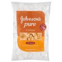 Johnson & Johnson Cotton Balls White 120
