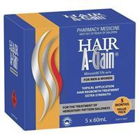 Hair A Gain 5 x 60ml (5 months supply)