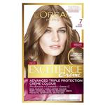 L'Oreal Paris Excellence Permanent Hair Colour - 7 Dark Blonde (100% Grey Coverage)