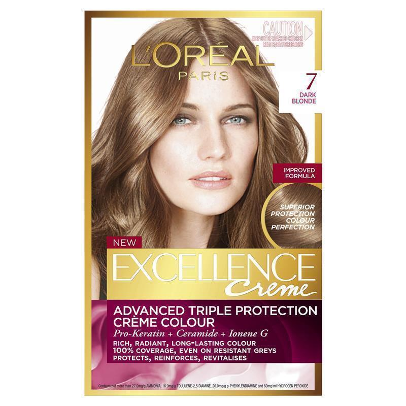 L Oreal Excellence Creme 7 Dark Blonde Epharmacy