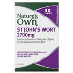 Nature's Own St Johns Wort 2700mg 40 Tablets