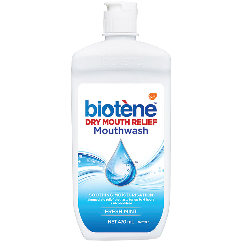 Biotene Anti-Bacterial Mouth Wash 470mL - ePharmacy