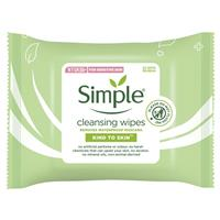 Simple Facial Cleansing Wipes 25