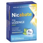 Nicabate Lozenges 4mg 36