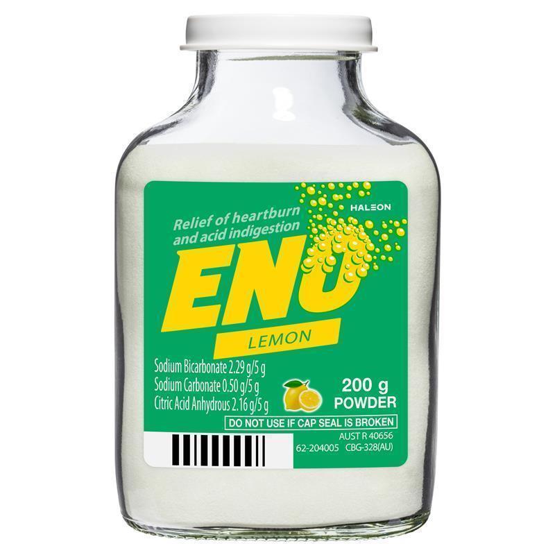 Eno Fruit Salt Lemon 200g Chemist Warehouse