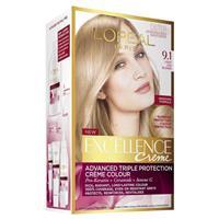 L'Oreal Excellence Creme - 9.1 Light Ash Blonde