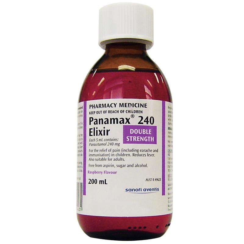Panamax 240 Elixir 200mL - ePharmacy