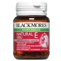 Blackmores Natural Vitamin E 100IU 42 Capsules