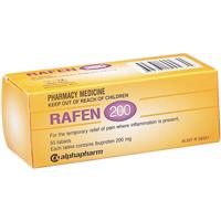 Rafen 200mg 50 Tablets