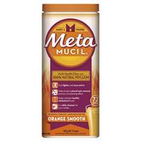 Metamucil Fibre Supplement Smooth Orange 72 Dose 425g