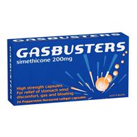 Gasbusters Capsules Peppermint 24
