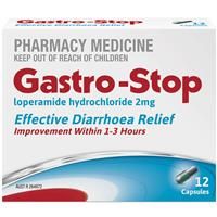 GastroStop 2mg 12 Capsules