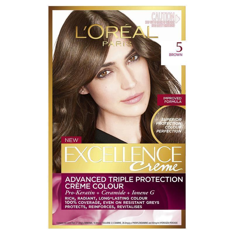 L Oreal Excellence Creme 5 Brown Epharmacy