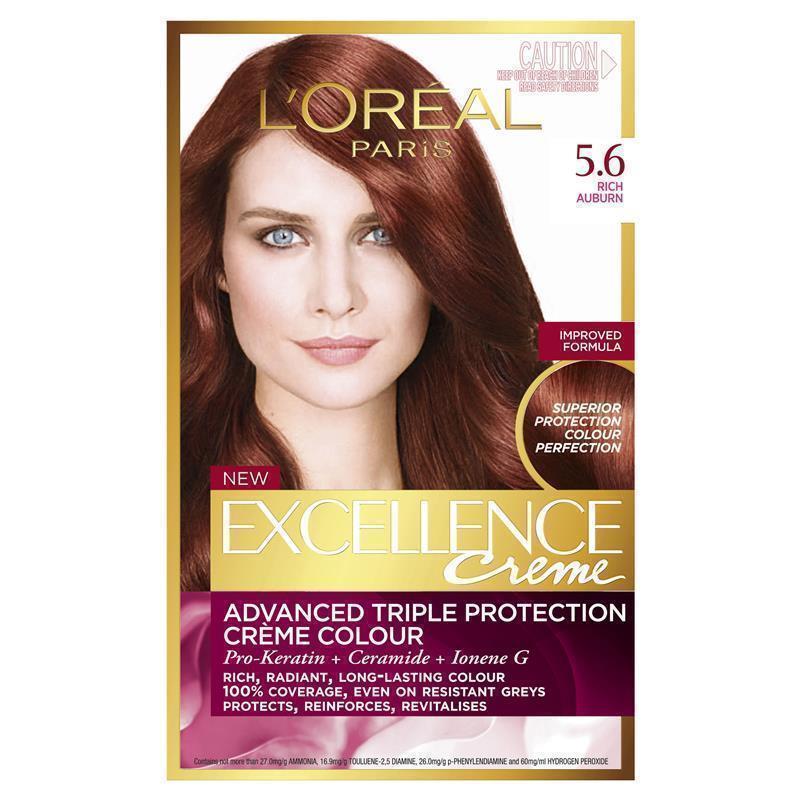 Rich Auburn Hair Color Creme - 5.6 rich auburn
