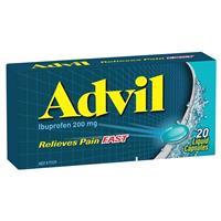 Advil Liquid Capsules 20