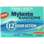 Mylanta Ranitidine 12 Hour Action 28 Tablets