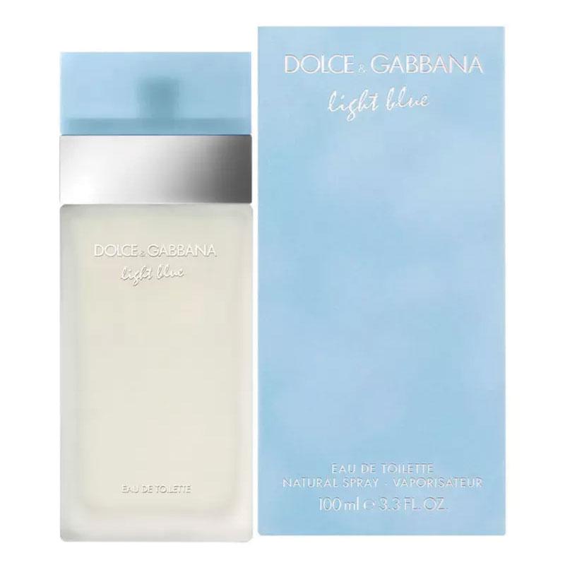 Dolce & Gabbana Light Blue Eau De Toilette 100ml Spray : My Beauty ...