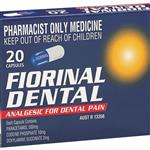 Fiorinal Dental 20 Capsules