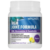 Wagner MSM Joint Formula with MSM, Glucosamine & Chondroitin 1 kg
