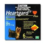 Heartgard 30 Plus Chewables for dogs up to 11kg (Blue) 6 pack