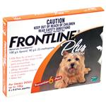 Frontline Plus for Small Dogs up to 10kg 6 pack
