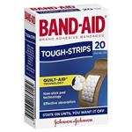 Band-Aid Tough Strips 20
