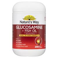 Nature S Way Glucosamine Fish Oil