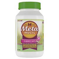 Metamucil Fibre Supplement FibreCaps 160 Capsules