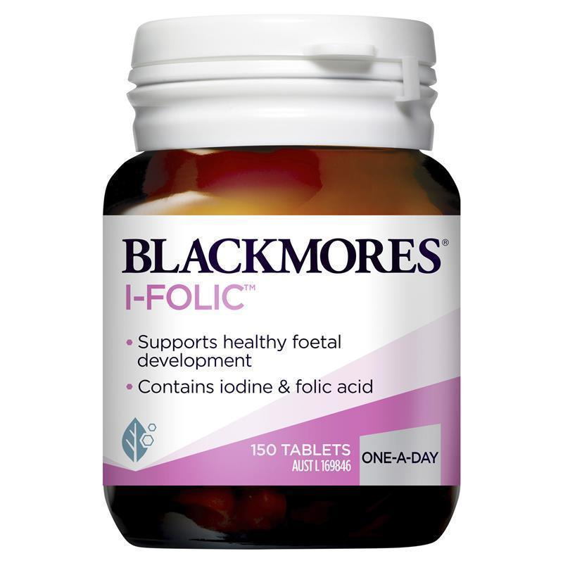 Blackmores i folic 150 tablets chemist warehouse for Fish oil para que sirve