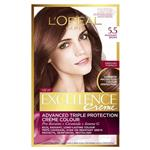 L'Oreal Paris Excellence Permanent Hair Colour - 5.5 Mahognay Brown (100% Grey Coverage)