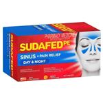 Sudafed PE Sinus Day and Night Relief 48 Tablets