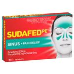 Sudafed PE Sinus and Pain Relief 24 Tablets