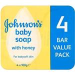 Johnson & Johnson - Johnson's Baby Soap 4 Pack