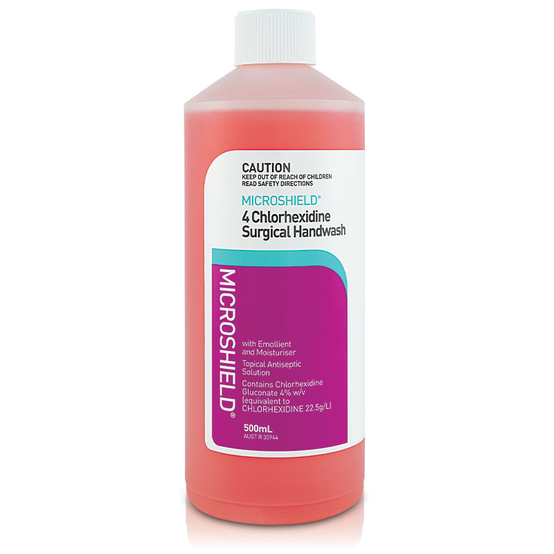 Microshield 4 Surgical Handwash 500mL - ePharmacy