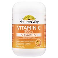 Nature's Way Vitamin C 500mg 300 Tablets