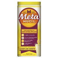 Metamucil Fibre Supplement Smooth Texture Lemon-Lime Flavour 72 doses 425g