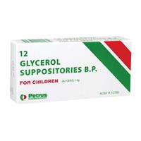 Glycerol Suppositories for Children